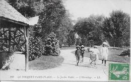 PAS DE CALAIS-LE TOUQUET PARIS PLAGE Le Jardin Public L'Hermitage-MO - Le Touquet