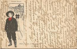 ARISTIDE BRUANT ILLUSTRATEUR BORGEX 1923 COURTENAY JE SUIS NE - Illustratori & Fotografie