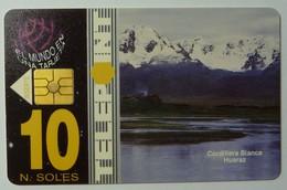 PERU - Chip - PTE-007 - 10 NS - Telepoint - Cordillera Blanca - Used - Peru