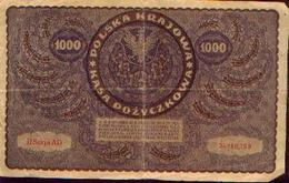 POLOGNE 1000 Marek 1919 - Pologne