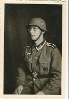 AC -  B3301  (Photo PF-format  60x90mm) - Période IIIème Reich - Scène De  Vie  Militaire - War, Military