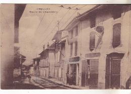 38 Crolles -  Route De Chambery, Café Des Alpes. , Edit Roissat. Animé, Tb état Non Circulé. - Autres Communes