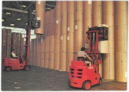 CP MARSEILLE - Port Autonome - Hangar à Papier : Chariots Elevateurs Clark En Action - Marseille