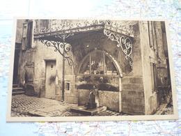 Fontaine De La Vierge Noire - Mende