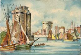 LA ROCHELLE (17) - La Sortie Du Port -  BARRE DAYEZ N° 2020 B - Illustrateur BARDAY - Barday