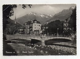 Merano (Bolzano) - Ponte Teatro - Viaggiata - (FDC9812) - Merano