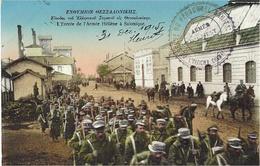 L'entrée De L'Armée Féllène à Salonique -  N°6358 - Grèce