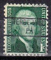 USA Precancel Vorausentwertung Preo, Locals Pennsylvania, Terre Hill 841 - Vereinigte Staaten