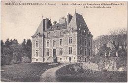 29. Château De Pratulo En CLEDEN-POHER. 3401 - France