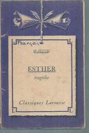 "RACINE  "" ESTHER "" - Theatre"