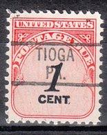 USA Precancel Vorausentwertung Preo, Locals Pennsylvania, Tioga 819 - Vereinigte Staaten