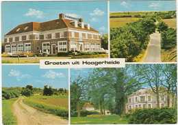 Hoogerheide: MESSERSCHMITT KR175, OPEL KADETT-A, FORD CORTINA '63 - Hotel Pannenhuis,Scheldezicht,Mattenburgh (Holland) - Toerisme