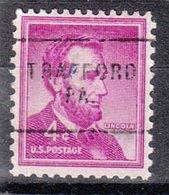 USA Precancel Vorausentwertung Preo, Locals Pennsylvania, Trafford 703 - Vereinigte Staaten