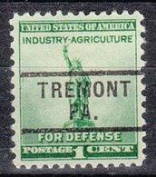 USA Precancel Vorausentwertung Preo, Locals Pennsylvania, Tremont 729 - Vereinigte Staaten