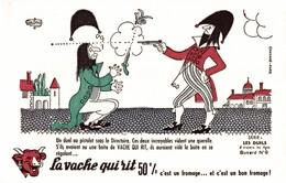 BUVARD  LA VACHE QUI RIT LES DUELS (numero 9) - Dairy