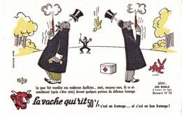 BUVARD  LA VACHE QUI RIT LES DUELS (numero 10) - Dairy