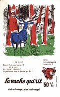 BUVARD  LA VACHE QUI RIT Le Cerf - Dairy