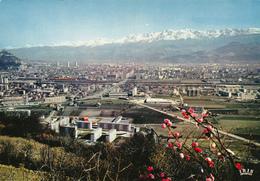 Isère Grenoble,éditeur La Cigogne,et Hachette,vue Aérienne De La Ville,et Chaine De Belledonne - Grenoble