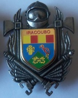 INSIGNE SAPEURS POMPIERS IRACOUBO (GUYANE) - Firemen