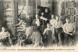 Manufacture De Feutres Et De  Sandales Paul Herigoyen  Carte Rare - Saint Vincent De Tyrosse