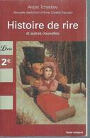 "ANTON TCHEKHOV "" HISTOIRE DE RIRE "" - Theatre"