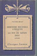 """VICTOR HUGO """" LA FIN DE SATAN DIEU """" - Theatre"""