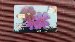 Phonecard Malta Flowers Used - Malta