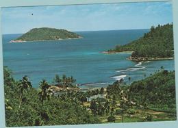 CPM:  SEYCHELLES :  Port Glaud Beach, Mahe.       (E 342) - Seychelles