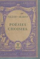 "VILLON-MAROT "" POESIES CHOISIES "" - Theatre"
