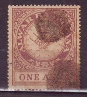 India-Alwar State 1 Anna Court Fee/Revenue Type 30 #DF583 - Alwar
