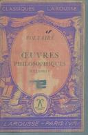 "VOLTAIRE "" OEUVRES PHILOSOPHIQUES "" - Theatre"