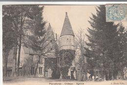 Cp , 60 , PIERREFONDS , Château , Agence - Pierrefonds
