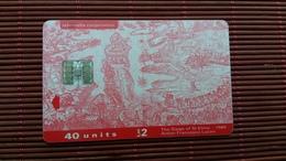 Phonecard Malta 40 Units Used - Malta