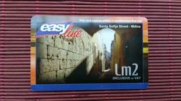 Prepaidcard Malta  Used 2 Scans - Malta