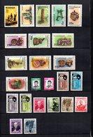 Nicaragua  1965-66 .-  Y&T Nº   528-532/542-543/544-547/550-553/556-558/559      Aéreos - Nicaragua