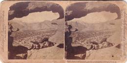 Amerique,UNITED STATES,ETATS UNIS,COLORADO,1898,PIKE'S PEAK,FROM PEEP HOLE,USA,CIME,PHOTO,FOTO,OLD,STOHMEYER,WYMAN - Photographs