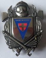 INSIGNE SAPEURS POMPIERS ANNEMASSE - Firemen