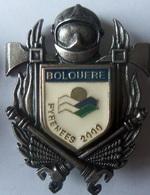 INSIGNE SAPEURS POMPIERS BOLQUERE - Firemen