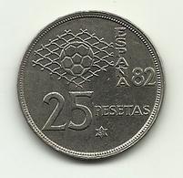 1980 - Spagna 25 Pesetas (81), - [ 5] 1949-… : Regno