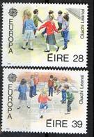 PIA - IRLANDA - 1989 : EUROPA  - (Yv 682-83) - 1949-... Repubblica D'Irlanda