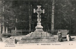 CPA   76   INGOUVILLE----LE CALVAIRE - Frankrijk