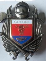 INSIGNE SAPEURS POMPIERS GIMONT - Firemen
