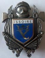 INSIGNE SAPEURS POMPIERS ISSOIRE - Firemen