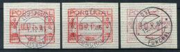 Portogallo 1981 Mi. 1 Usato 100% Automatici Vari Tipi - Vignette Di Affrancatura (ATM/Frama)