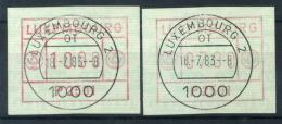 Lussemburgo 1983 Mi. 1 Usato 100% Automatici 2501 - Postage Labels