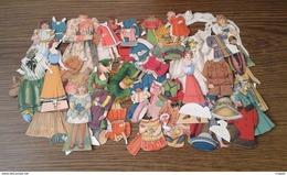 Jouet Poupées Et Vêtements En Papier Publicité Nestle Années 30 - Toy Memorabilia