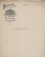 75 19 801 PARIS SEINE Avant 1900 VIERGE Fabrique Voitures BELVALLETTE FRERES Avenue Champs Elysees ( Hippomobile ) - Automobile