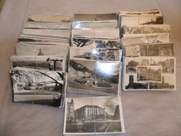 Grand Lot De 1000 Cartes Postales Semi - Modernes Petit Format N & B ( Drouille ) Du Monde    1000 Kaarten Wereld Kl. F. - Postkaarten