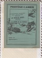 8/30 Protège Cahier PUB LE ROY LE BARS TREGOMEUR Illustrateur DUTE  Faibles De La Fontaine LE LIEVRE ET LA TORTUE - Perfume & Beauty