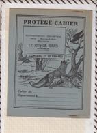 8/31 Protège Cahier PUB LE ROY LE BARS TREGOMEUR Illustrateur DUTE  Faibles De La Fontaine LE CORBEAU ET LE RENARD - Perfume & Beauty